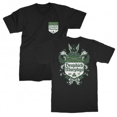 dropkick-murphys - Coat Of Arms Tee (Black)