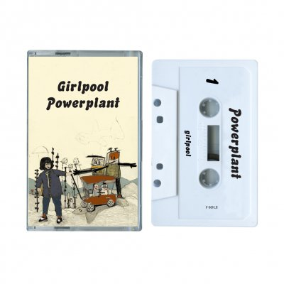 Girlpool - Powerplant Cassette (White)