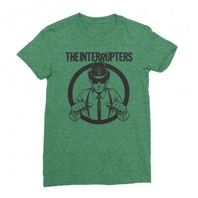 the-interrupters - Suspenders T-Shirt - Women's (Kelly Green)