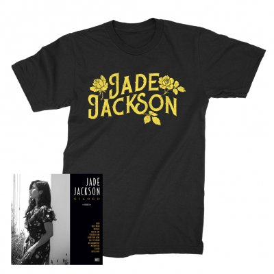 Jade Jackson - Gilded CD (Unsigned) + Roses T-Shirt (Black)