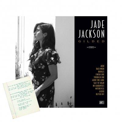 jade-jackson - Gilded CD (Unsigned) + Handwritten Lyric Sheet