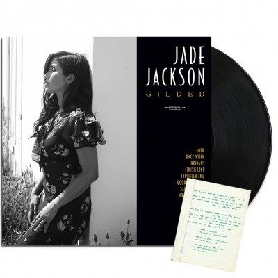 jade-jackson - Gilded LP (Unsigned) + Handwritten Lyric Sheet