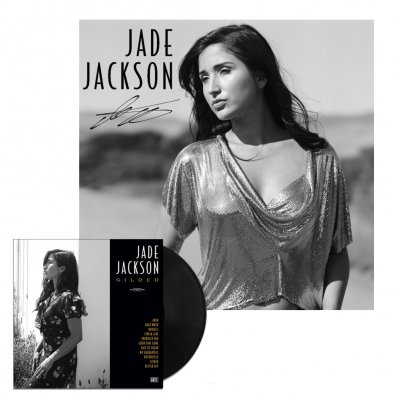 jade-jackson - Gilded LP (Unsigned) + Signed Lithograph