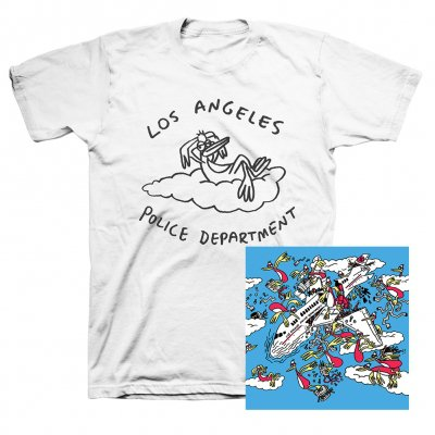 anti-records - Los Angeles Police Department CD + Bird T-Shirt (White) Bundle
