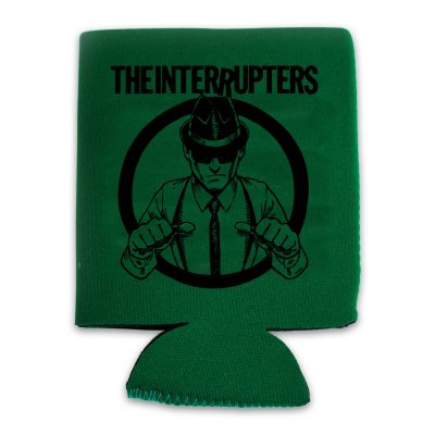 the-interrupters - Suspenders Coozie (Kelly Green)