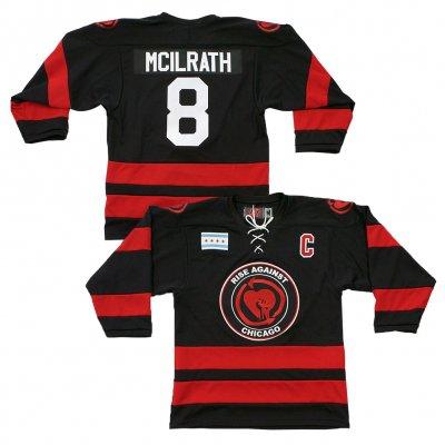 rise-against - Heartfist Throwback Edition Custom Hockey Jersey