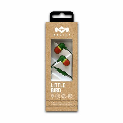 Bob Marley - Little Bird Earbuds (Rasta)