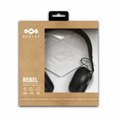 Bob Marley - Rebel BT Headphones (Black)