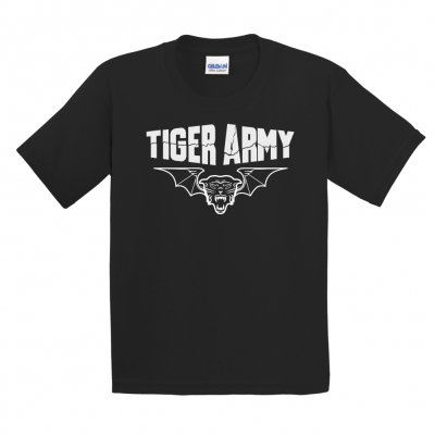 tiger-army - Tigerbat Toddler T-Shirt (Black)