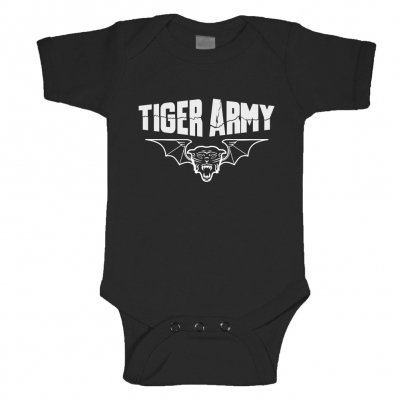 tiger-army - Tigerbat Onesie (Black)