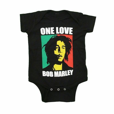 Bob Marley - One Love Onesie
