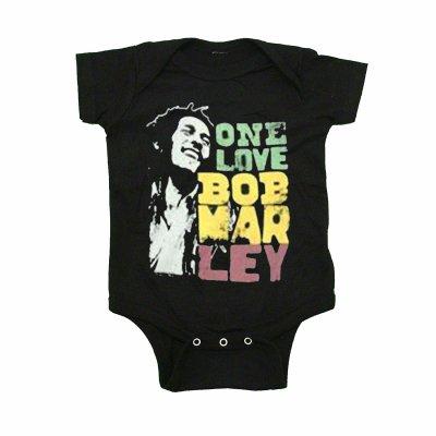 Bob Marley - Marley Smile Love Onesie