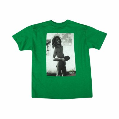 Bob Marley - Ping Pong Youth Tee (Green)