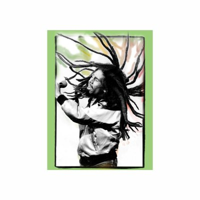 Bob Marley - Flying Dreads Sticker