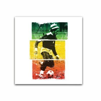 Bob Marley - Rasta Soccer Sticker