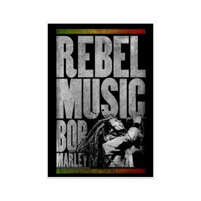 Bob Marley - Rebel Music Sticker