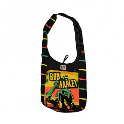 Bob Marley - Rasta Stripe Shoulder Bag