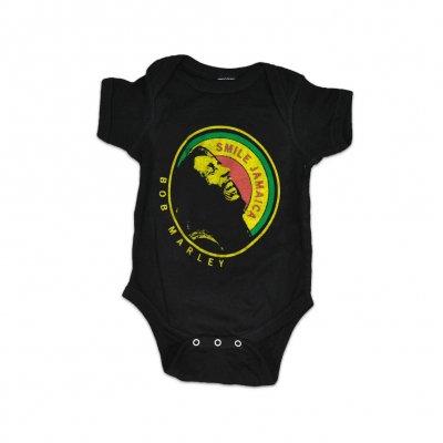 Bob Marley - Black Smile Jamaica Onesie