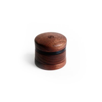 Bob Marley - Small Wooden 4-Piece Grinder