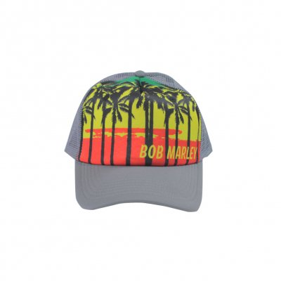 Bob Marley - Palms Trucker Hat