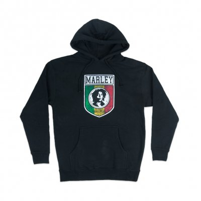 Bob Marley - Kingston JA Pullover Hoodie (Black)