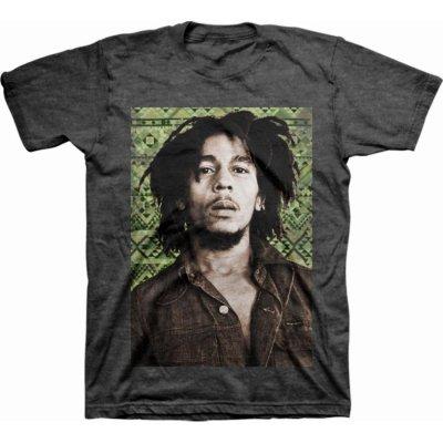 Bob Marley - Green Aztec Tee
