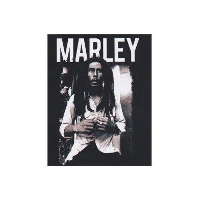 Bob Marley - Black & White Sticker