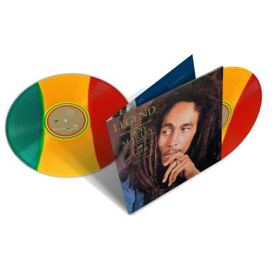 Bob Marley - Legend 2xLP (Red/Yellow/Green)