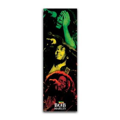 Bob Marley - 3 Colors 12x36 Poster