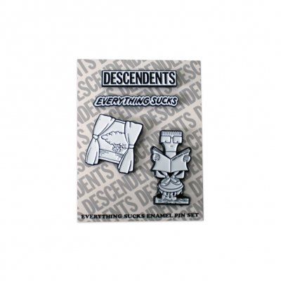 descendents - Everything Sucks Enamel Pin Set (4 Pins)