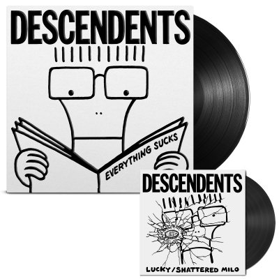 Descendents - Everything Sucks: 20th Anniversary LP/7 (Black 180