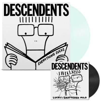 descendents - Everything Sucks: 20th Anniversary LP/7 (Clear)