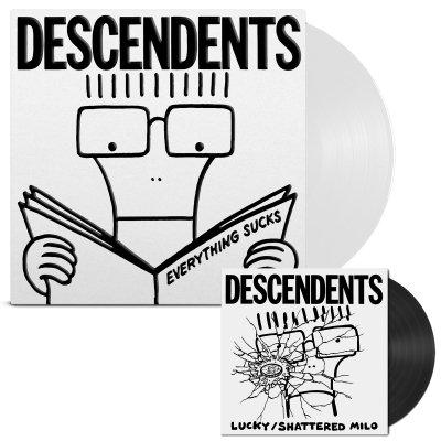 descendents - Everything Sucks: 20th Anniversary LP/7 (White)