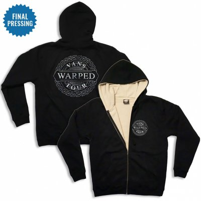 vans-warped-tour - Compass Sherpa Lined Hoodie
