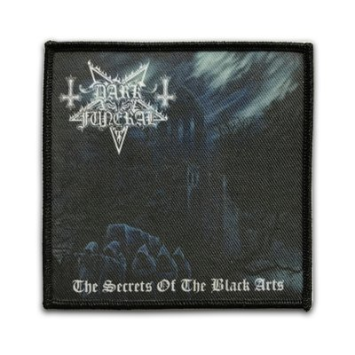 The Secrets Of The Black Arts Woven Patch