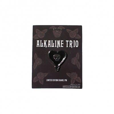 Alkaline Trio - Heartskull Enamel Pin