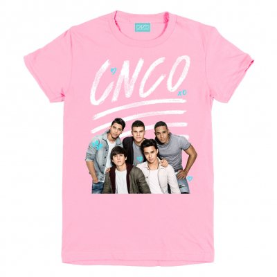 cnco - Group Photo Tee Pink
