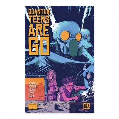 Quantum Teens Are Go - Quantum Teens Are Go - Issue 2