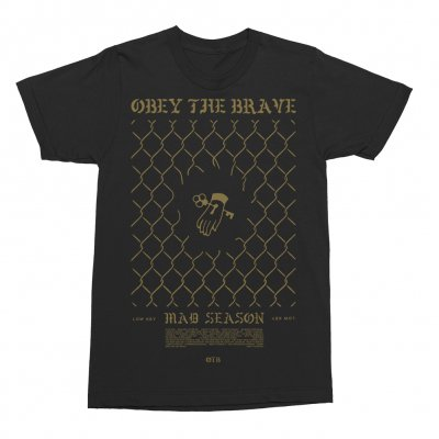 Obey The Brave - Low Key T-shirt (Black)