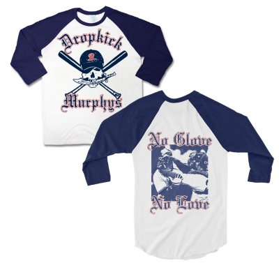 dropkick-murphys - Pirate Baseball Tee (Navy)