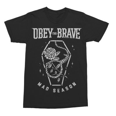 Obey The Brave - Coffin T-Shirt (Black)