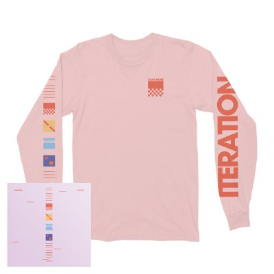 Com Truise - Iteration CD + Long Sleeve T-Shirt (Pink)