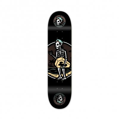 vans-warped-tour - Forever Warped Beach Bones Skateboard Deck