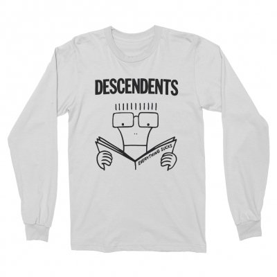 descendents - Everything Sucks Longsleeve Tee (White)