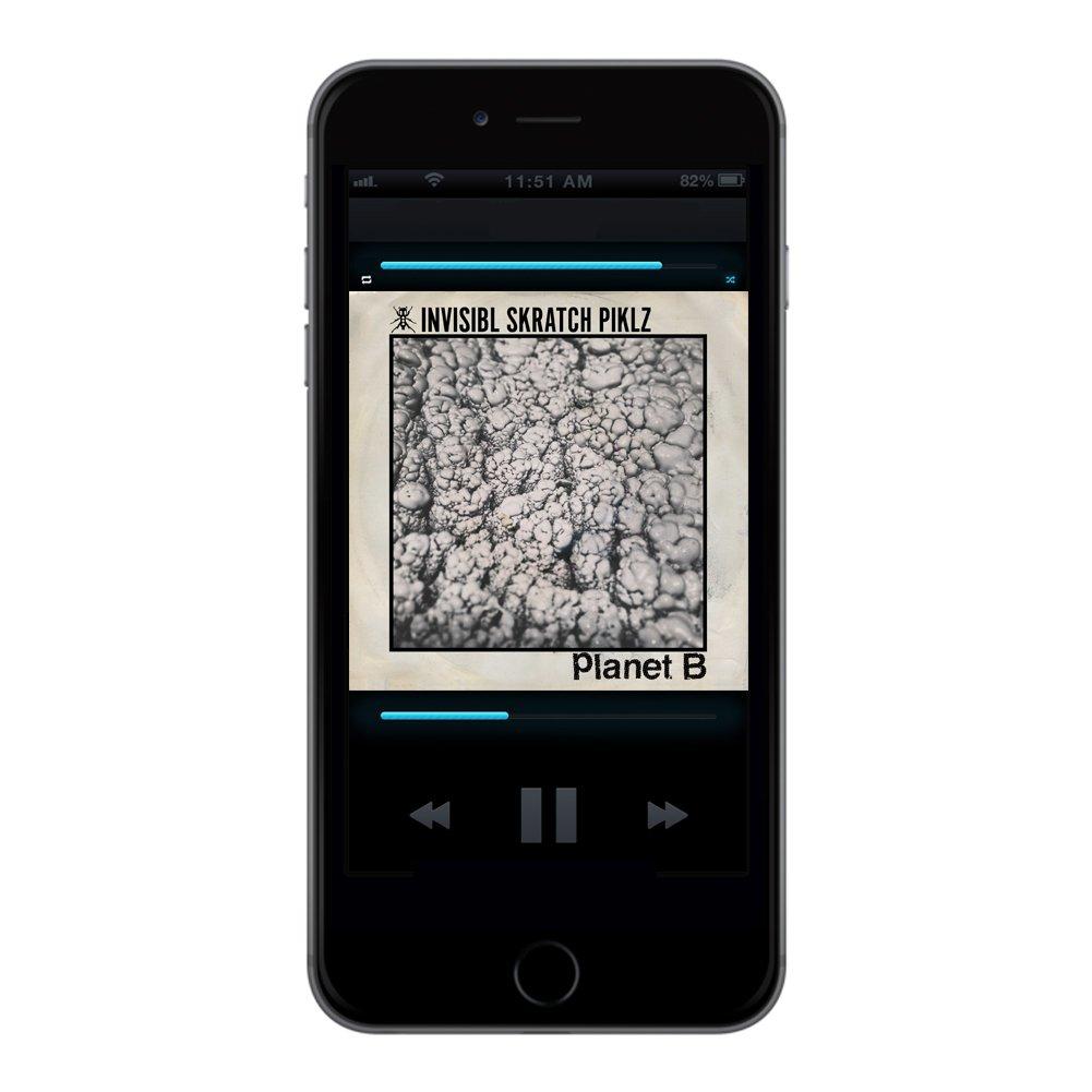 Invisibl Skratch Piklz/ Planet B Digital Single