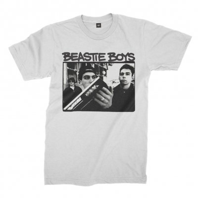 beastie-boys - Boom Box T-Shirt (White)