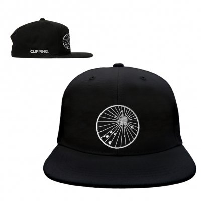 clipping - Splendor & Misery Snap Back Hat (Black)