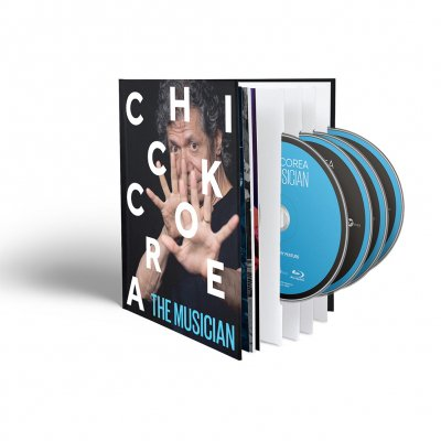 chick-corea - The Musician 3xCD + Blu Ray + Digital Download Bundle