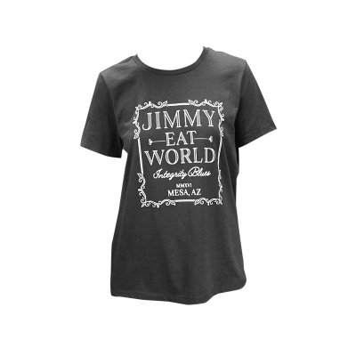 Jimmy Eat World - Ornate Womens T-Shirt (Black)