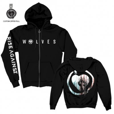 Rise Against - We Are The Wolves Custom Zip Up Hoodie